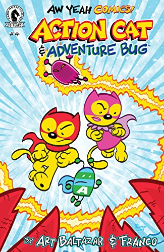 Aw Yeah Comics: Action Cat & Adventure Bug #4 (English Edition)