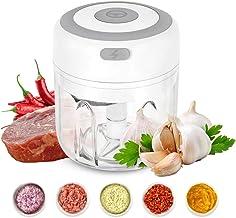 Beauty Nymph Mini Electric Food Chopper Vegetable Garlic Chopper Mincer Blender Kitchen Gadgets Food Processor (250ml)