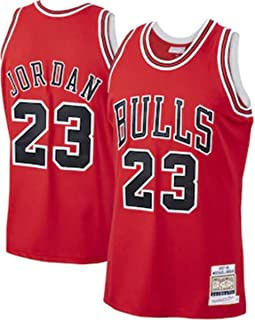 Michael Jordan 23# Jerseys,NBA Chicago Bulls Men's Basketball Clothes Cool Breathable Fabric Swingman Sleeveless Vest Top ...