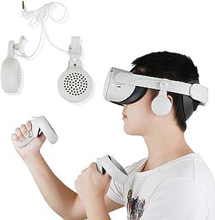 Esimen Gaming Headset for Oculus Quest 2 Elite Strap Headphones- High Fidelity- Custom-length Cable - Rotate 360 degrees -...