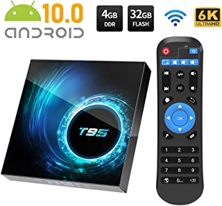comprar comparacion Android TV Box, Android 10.0 TV Box 4GB RAM/32GB ROM Allwinnner H616 Quad-Core Support 2.4Ghz WiFi 6K HDMI Smart TV Box