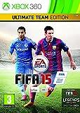 Electronic Arts FIFA 15 Ultimate Team Edition, Xbox 360 Básica + DLC Xbox 360 vídeo - Juego (Xbox 360, Xbox 360, Deportes, Modo multijugador, E (para todos))