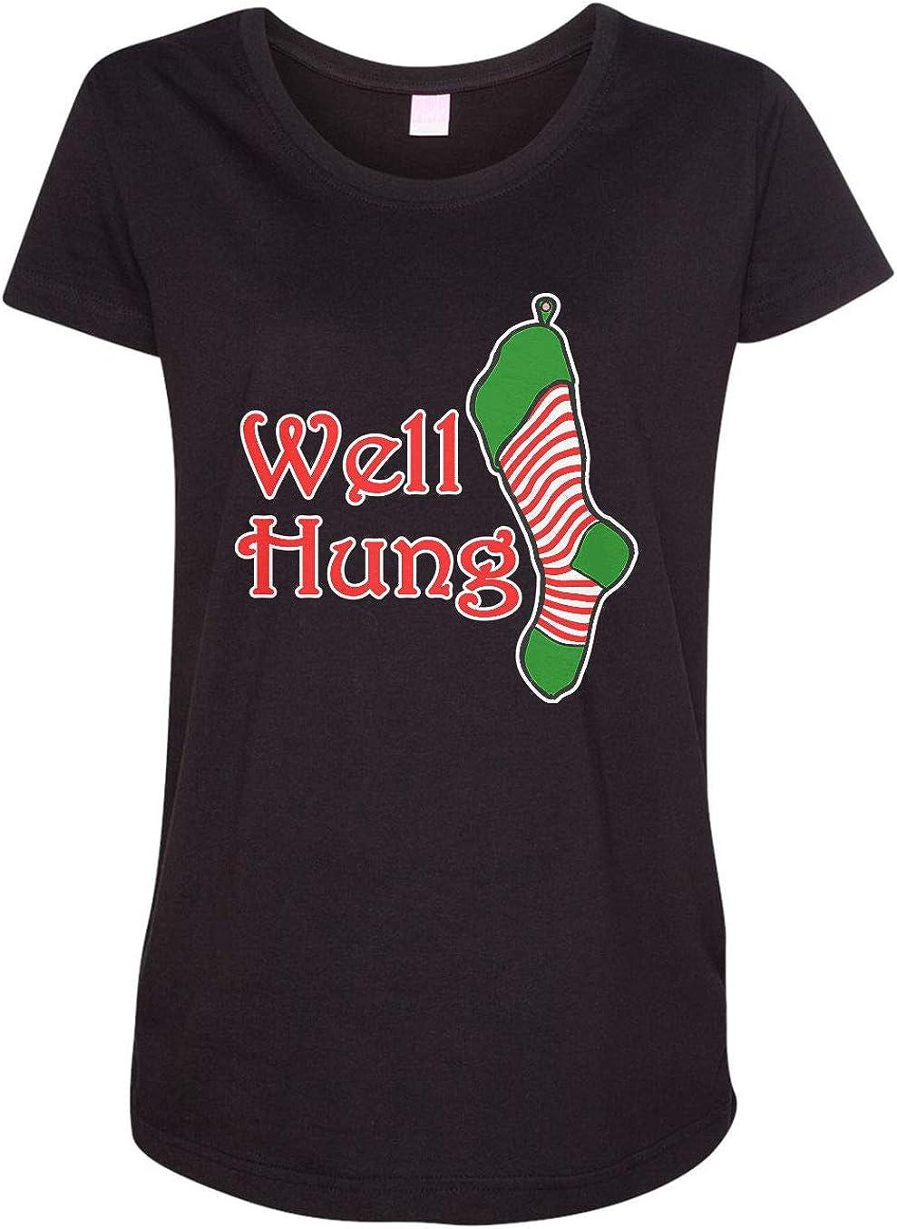 HARD EDGE DESIGN Women's Well Hung T-Shirt