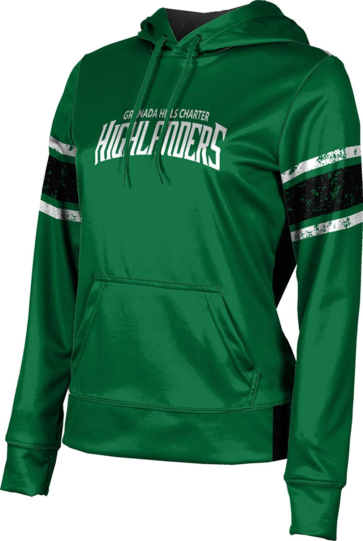 ProSphere Granada Hills Charter High School Girls' Pullover Hoodie, School Spirit Sweatshirt (End Zone)