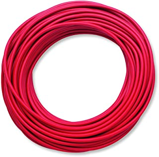 Pomona 6733-2 Silicone Test Lead Wire, 50 Feet (15.2 Meters), Red
