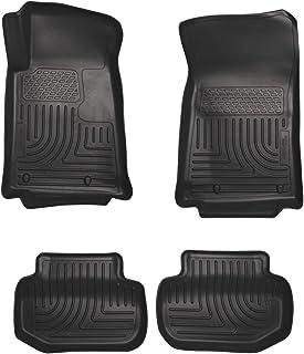 Husky Liners 98121 Fits 2011-15 Chevrolet Camaro Weatherbeater Front & 2nd Seat Floor Mats , Black