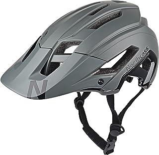 Casco de bicicleta para mujer y hombre, casco de ciclismo con parasol para mujeres y hombres adultos para BMX MTB Montain ...