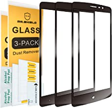 [3-Pack]-Mr.Shield for ZTE MAX XL [Japan Tempered Glass] [9H Hardness] [Full Cover] Screen Protector with Lifetime Replacement
