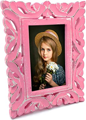 The Urban Store Decorative and Hand Crafted Table Top Wooden Photo Frame - 25cm x 20cm x 2cm
