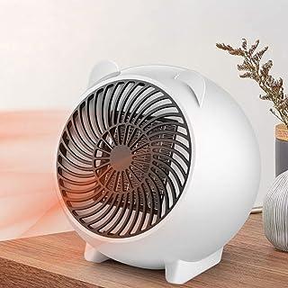 Mini Portatil Estufa Eléctrica Calefactor Cerámico de Aire,Calefactor Bajo Consumo Silencioso, Personal Handy Heater Calefacción de sobrecalentamiento Protection,para Oficina,Casa, Escritorio