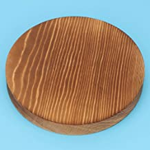 Wooden Pallets, Pallet, Makeup Pallet for Jewelry Ring(Pine Wood Light fire (Medium Round))