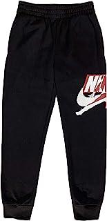 Jordan Boys Youth Classics Jogger Fleece Sweatpants Size M, L, XL (Black (95A434), Large)