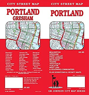 Portland, OR City Street Map