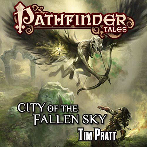 City of the Fallen Sky audiobook cover art