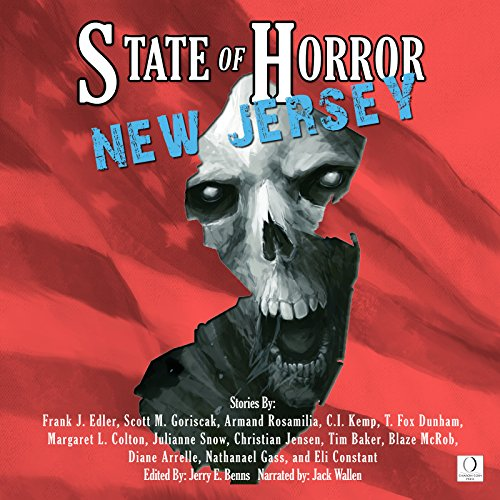 State of Horror: New Jersey audiobook cover art