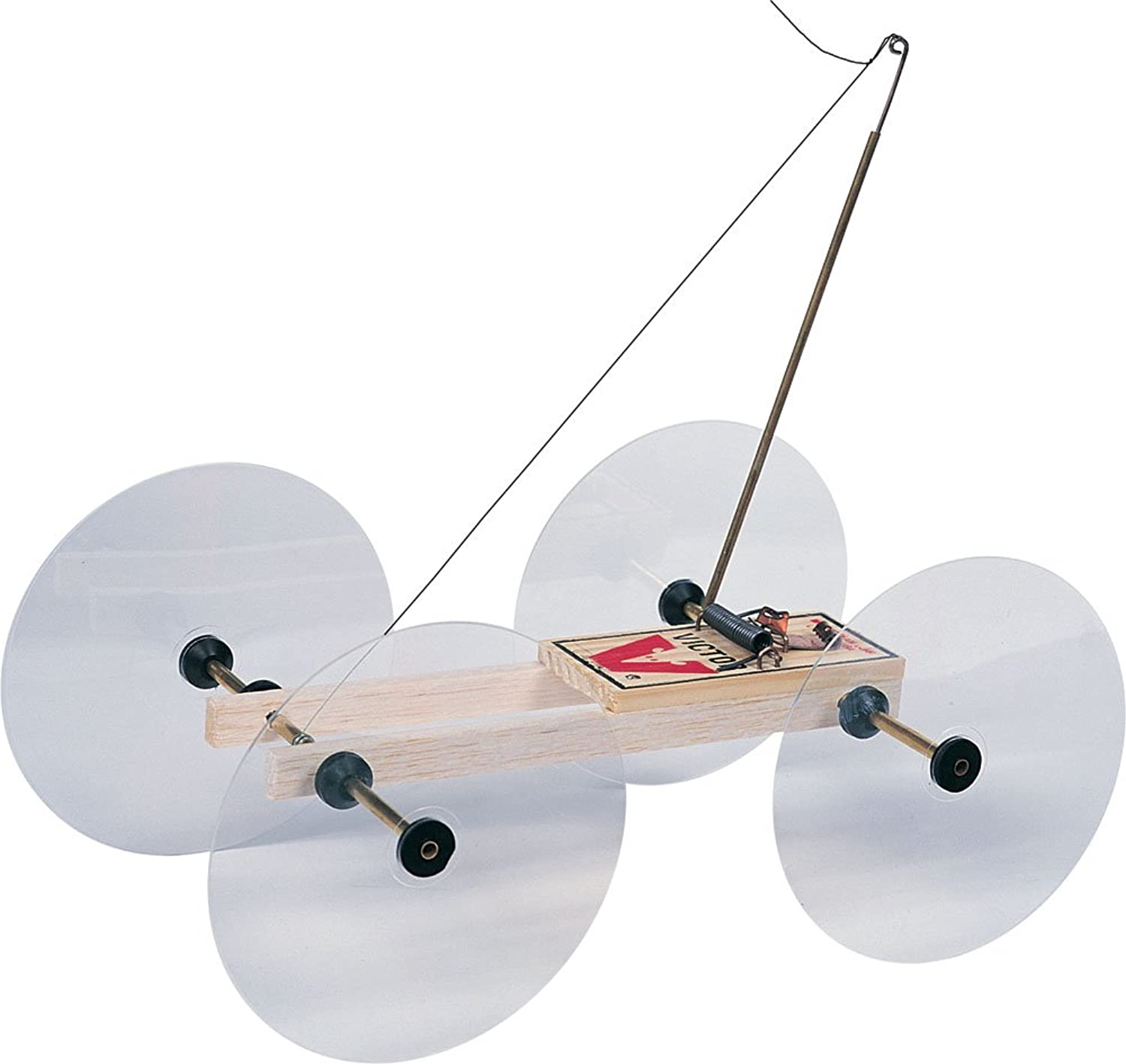 Pitsco Balsa Wood Little Moe Mousetrap Vehicle (For 10 Students)