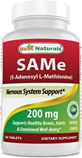 Best Naturals Sam-e Enteric Coated 200 mg 60 Tablets