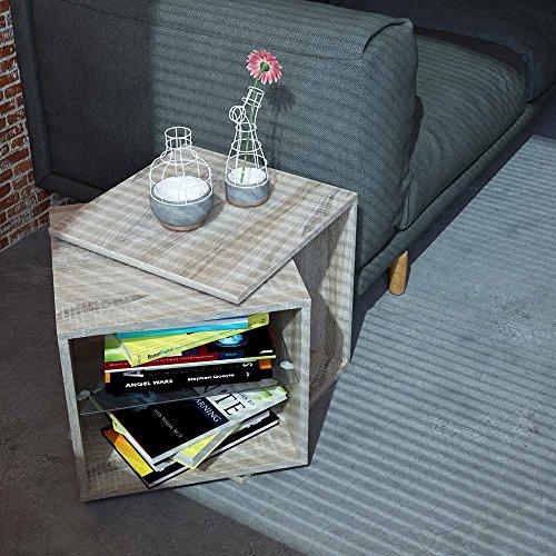 Rotating Tableau magnétique Sonoma pivotant réglable Table pivotante Table basse Table d'appoint Table basse Fleurs Tabouret Commode de nuit