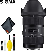 Sigma 18-35mm f/1.8 DC HSM Art Lens for Canon EF Standard Kit