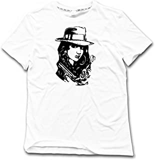 Customized Gifts Gangster Chola Mens Graphic Tee Shirt