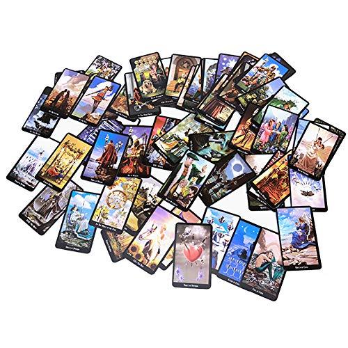 SYJH Witches kartenspiel 78pcs Karten Hexentarot Deck, Future Fate Indicator Forecasting Karten, Brettspiel