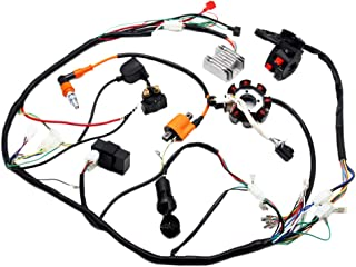 complete electrics atv quad 150cc 200cc 250cc 300cc 3 holes stator cdi  performance coil wire harness