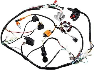 Complete Electrics ATV QUAD 150cc 200cc 250cc 300cc 3 Holes Stator CDI Performance Coil Wire Harness Zongshen Lifan