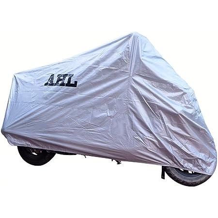 Ahl Motorradgarage Abdeckung Faltgarage Cover Regenschutz Wasserdicht Staubdicht Jede Jahreszeit Xl Silber Auto