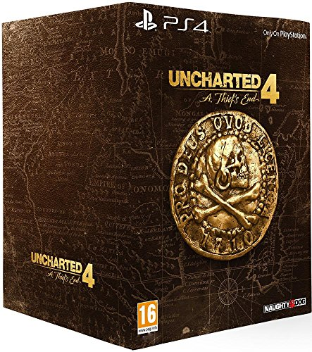Uncharted 4: A Thief's End - édition collector - PlayStation 4 - [Edizione: Francia]