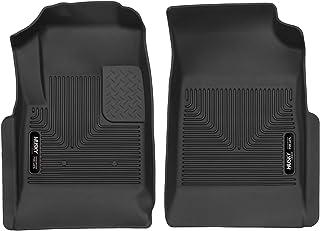 Husky Liners 53121 Fits 2015-20 Chevrolet Colorado, 2015-20 GMC Canyon X-act Contour Front Floor Mats, Black