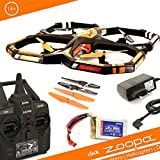zoopa Acme Q 650 Razor Quadrocopter | Incl. 2.4 GHz Remote Control |360 Degree flipfunction | gyro-System (ZQ0660)