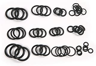 Schwarz 15 Sets ATOPLEE 200pcs NBR O-Ring Dichtscheibe Sortiment Kit