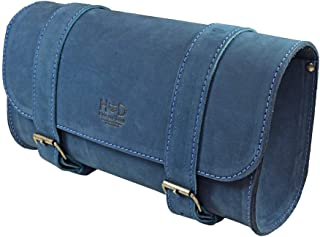 Hide & Drink, Thick Leather Motorcycle Handlebar Bag, Tool bag/Accessory Pouch/Saddle Bag, Handmade Includes 101 Year Warranty :: Blou Reed