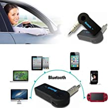 TIEM Wireless Bluetooth 3.5mm AUX Audio Stereo Music Home MP3 Car Receiver Adapter