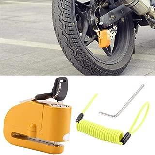 XUANOU Anti Theft Motorcycle Alarm Disc Lock Brake Motorbike + Free Reminder Cable 1.5M