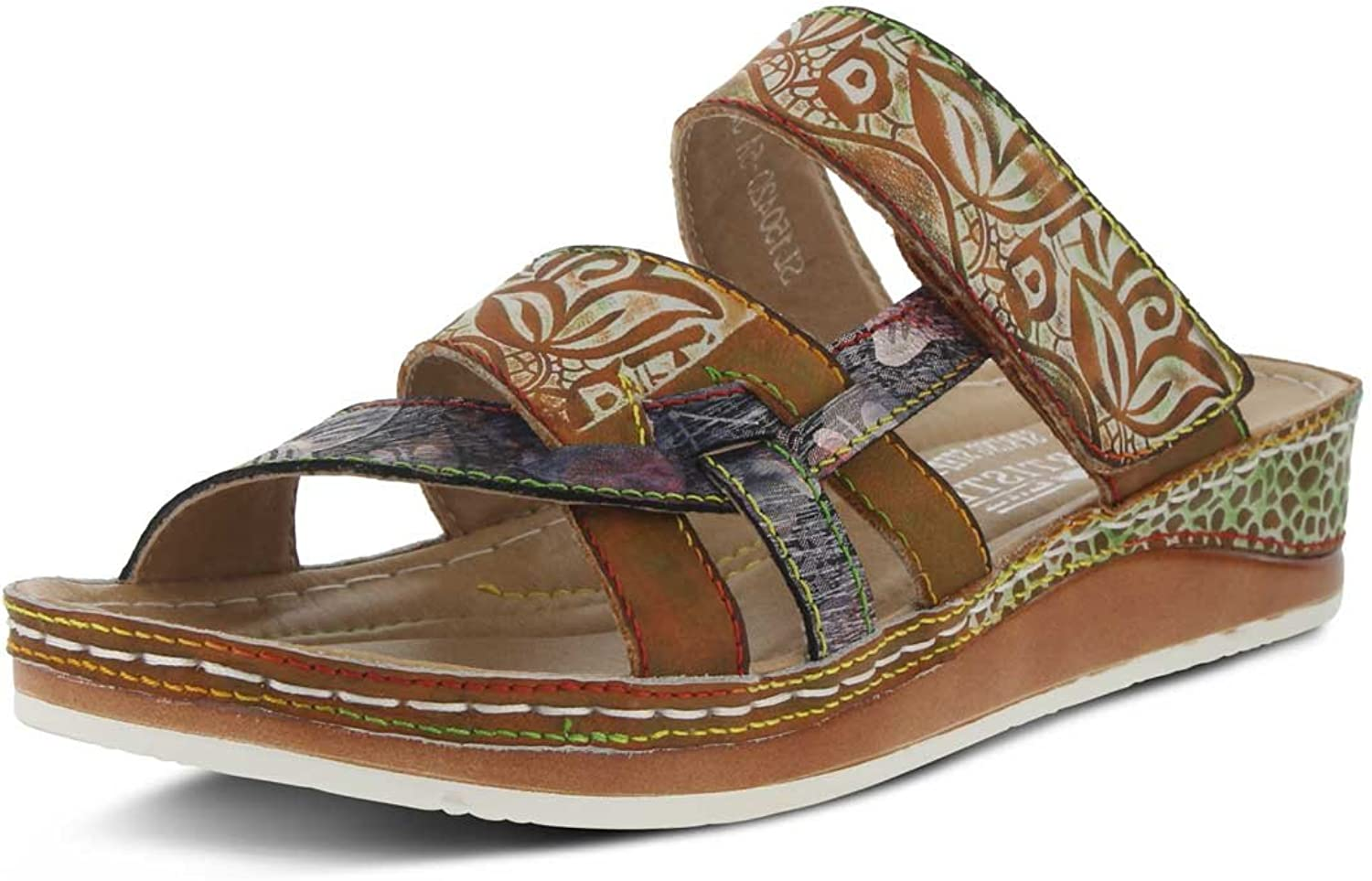 Women's L'artiste by Springstep, Caiman Slide Sandals