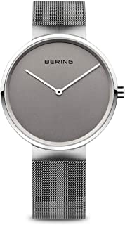 Bering Time Women's Quartz Watch with Silver Fair Novelty Analogue Quartz Stainless Steel 14539 077