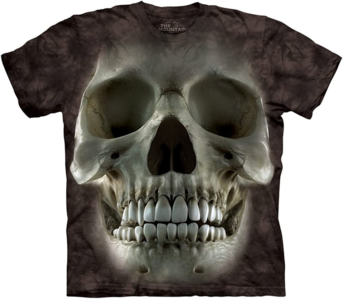 THE MOUNTAIN  BREAKTHROUGH SKULL  RIPPED LOOK  T SHIRT
