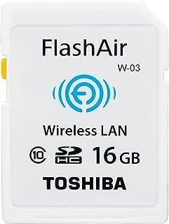 TOSHIBA 無線LAN搭載 FlashAir III Wi-Fi SDHCカード 16GB Class10 並行輸入品
