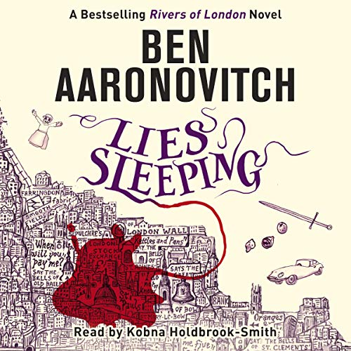 Lies Sleeping audiobook cover art