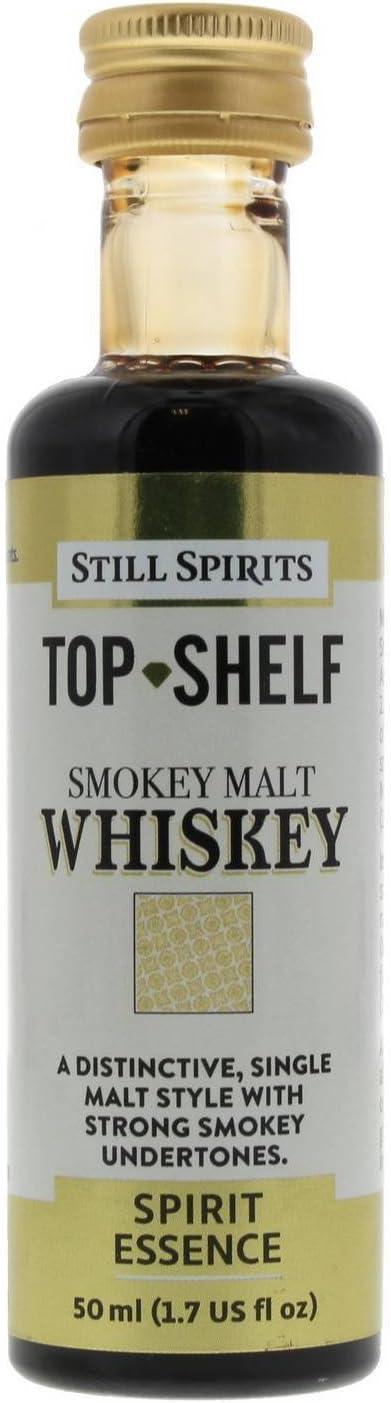 Still Spirits Top Shelf Smokey Whiskey 2.2 Japan's largest assortment Direct stock discount Malt Flavours Essence