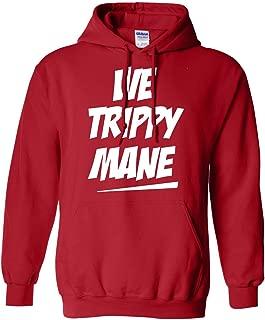ymcmb red hoodie