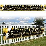 Anyingkai Pancarta Feliz Cumpleaños 30,Decoración Cumpleaños 30 Años,Feliz Cumpleaños Decoracion Adulto,Feliz Cumpleaños Pancarta,Decoración Fiesta 30 Cumpleaños,Feliz Cumpleaños Decoracion