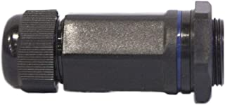 Purpura RJ45 Waterproof Front Mount Panel Shielded Connector, M25x1.5, ROHS & CE Approved