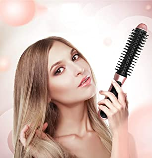 Travel Curling Wands Iron Support Car USB Charging Cordness Portable with Massage Comb Hair Curler,straightenter Smooth Re...