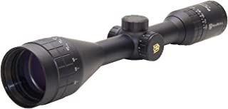 Nikko Stirling NPGI41250AO Panamax AO HMD Wide FOV Illumination Rifle Scopes, 4-12 x 50mm, Black
