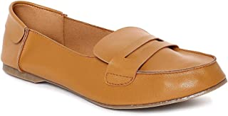 Monrow Rylie Tan Loafers