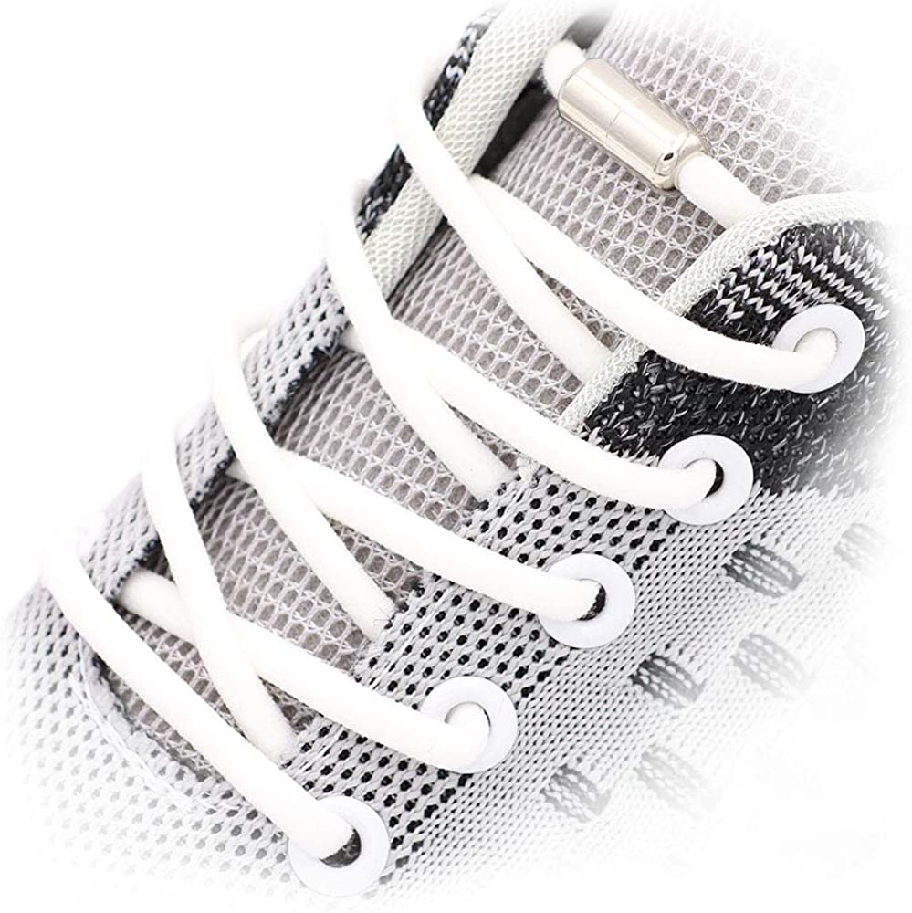 shipfree 2 Pairs Sales for sale No Tie Elastic Shoelaces Adults and fit R Kids