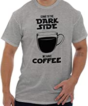Dark Side Has Coffee Funny Space Nerd Gift T Shirt Tee
