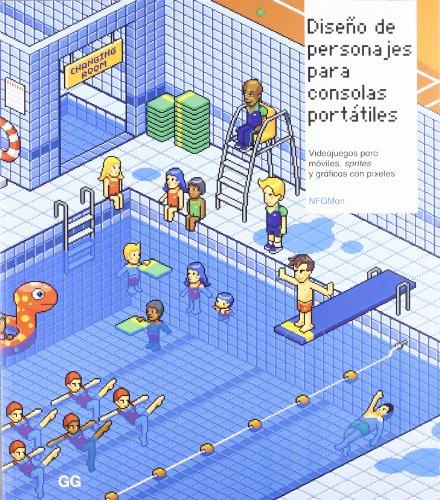 Diseño de personajes para consolas portátiles.: Videojuegos para móviles, sprites y gráficos con píxeles